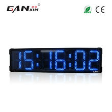 [Ganxin] 8'' 6 Digits Multi-color Race Timer Device from the First-rate Led Clock Manufacturer