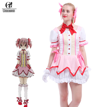 ROLECOS Japanese Anime Love Live Kousaka Honoka Cosplay Costume Lolita Cheerleading Uniforms Plus Size CC-0256-MC