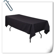 Big Discount  !!! 10pcs 150*320cm Rectangle  Black table cover 180GSM For Wedding Events &Hotel & Banquet Free shipping Marious