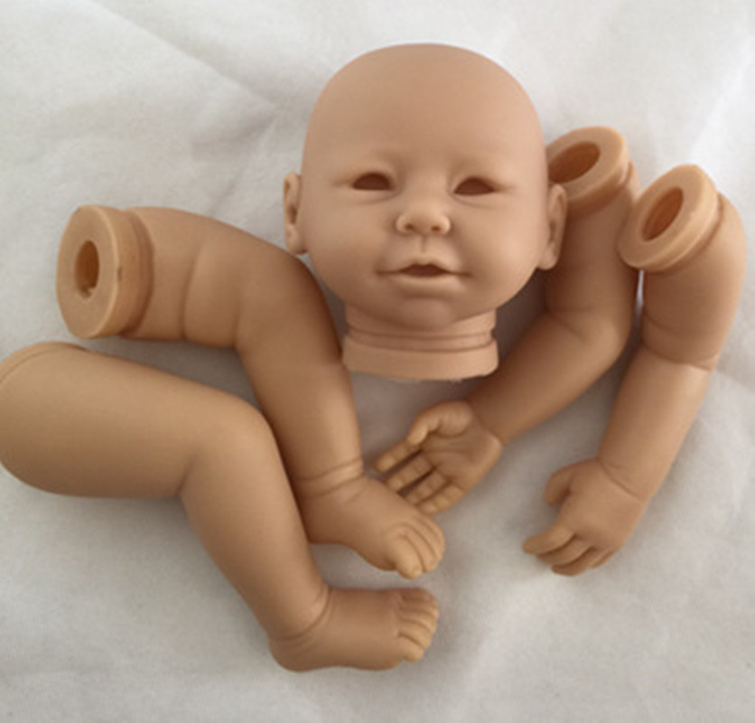 Reborn Doll Kits for 20inches Soft Vinyl Reborn Baby Dolls Accessories for DIY Realistic Toys for DIY Reborn Dolls Kits dk-79<br>