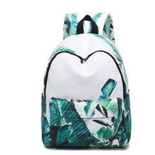 famous Brand Women  Brand Fashion Unique Design Women Book Bag Ladies Backpack Bags Canvas Schoolbag Backpacks for Teenage Girls