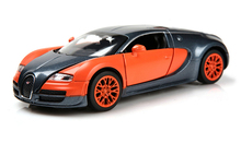 Hot Sale 1:32 Scale Bugatti Veyron Alloy Diecast Car Model Pull Back Toy Cars For Kids Toys Gifts