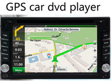 6.2 inch car GPS navigator Car DVD Player FM MP3/MP4 offer new maps and dropshipping, free shipping