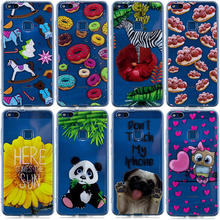 Soft Silicone Phone Case For Coque Huawei P8 P10 P20 Lite Y5 II Y6 Y7 Y9 2018 Mate 10 Pro Honor 7s 7X 10 Nova 3i Back Covers(China)