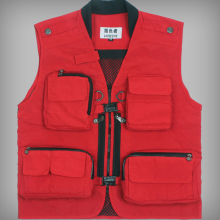 Hot Sale Spring Summer Travel Men Vest Photography Vest Mesh Breathable Multi-pocket Reporter Jacket Waistcoat