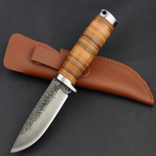 Combat Camping Practical Portable Fixed knives Hunting Tactics Outdoor Survival Rescue Folding Knife Handmade Warfare EDC Tools(China)