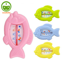 Lovely Fish Plastic Water Temperature Thermometer Baby Water Thermometer Baby Bath Float Thermometer Tub Water Thermometer SW01(China)