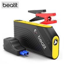 BEATIT TECH B9-Pro 600A Peak 14000mAh Portable Car Jump Starter With Smart Jumper Cables