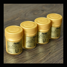 30ml VISAD Gold Arcylic paints for painting calligraphy watercolor Gold Pulp Powder Gouache paint(China)