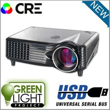 2016 Cre x300 New 1500lumens 3D Projector home theater low cost projector(China)