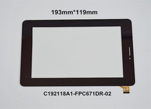 7 inch touch screen panel C192118A1-FPC671DR for ViewSonic Viewpad 7D 7D tablet PC Free Shipping(China)