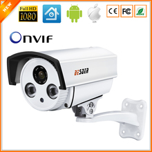 BESDER Auto Zoom 4X Motorized Lens 2.8mm-12mm CCTV Camera Full HD 1080P 2MP HI3516C SONY IMX322 ONVIF IP Camera DC 12V 48V PoE(China)