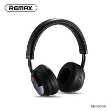 Remax RB-500HB Stereo Wireless bluetooth Earphone Touch Control Headband Bluetooth Headset Music Headphone HD Sound Microphone(China)