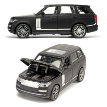 Alloy Car Model 1/32 Die Cast Toys Car, 15.5Cm 6 inch Alloy Car With Light and Music  4 Open Doors
