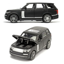 Alloy Car Model 1/32 Die Cast Toys Car, 15.5Cm 6 inch Alloy Car With Light and Music 4 Open Doors(China)