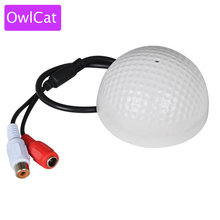 Buy OwlCat Sound Monitor Audio Pickup Microphone CCTV Video Surveillance Security Camera IP Cameras for $3.99 in AliExpress store