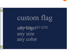 New fashion custom flag any size company advertisement flags and banners 3x5 FT, free shipping(China)