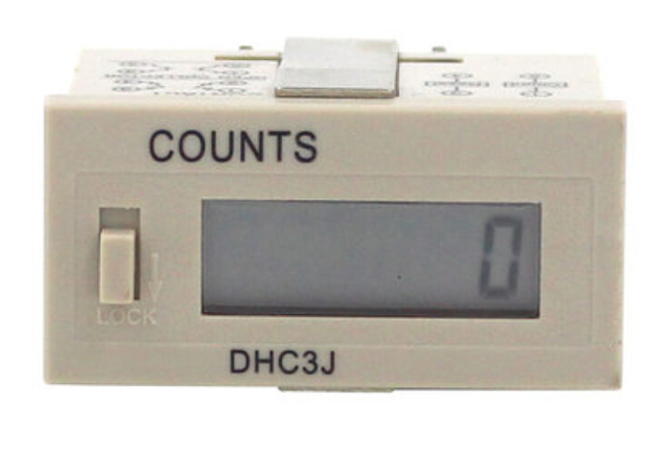 DHC3J electronic digital counter accumulated power and memory when the power is comes six 220V mechanical interlocking<br><br>Aliexpress