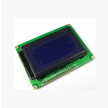 128*64 DOTS LCD module 5V blue screen 12864 LCD with backlight ST7920 Parallel port LCD12864(China)