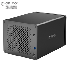 ORICO Tool Free USB3.0 to SATA 5-Bay USB 3.0 5Gbps Hard Drive Docking Station with 12V 6.5A Power Adapter Support UASP HDD Case(China)