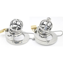 Buy Chaste Bird latest design 316 stainless steel Male Chastity Device Cock Cage Stealth lock Ring Sex Toy A289