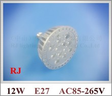 die casting aluminum LED spot light lamp spotlight bulb LED par light parlight E27 AC85-265V 12LED 12W 960lm free shipping