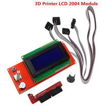 3D Printer Kit Smart Parts RAMPS 1.4 Controller Control Panel LCD 2004 Module Display Monitor Motherboard Blue Screen