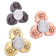 Buy Alloy Triangle Gyro Fidget Spinner metal EDC Hand Finger spinner Autism/ADHD Anxiety Stress Relieve Toys Gift for $2.60 in AliExpress store