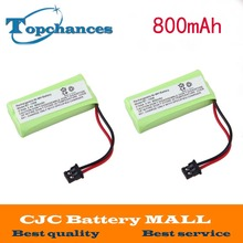 2 Pcs For Uniden BT-1008 BT-1016 BT-1021 BT-1025 BT1021 BT1025 CPH-515B Cordless Home Phone Battery(China)