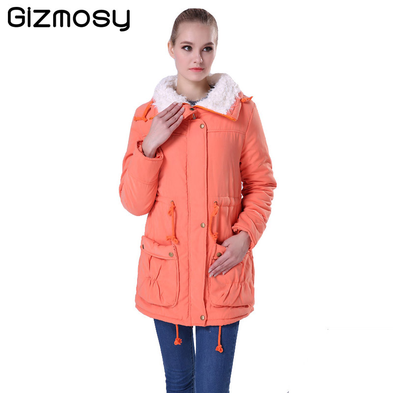 Winter Jacket Women 2017 New Winter Womens Parkas Casual Outwear Military Coat Long Femme Woman Clothes Cotton Padded BN022Одежда и ак�е��уары<br><br><br>Aliexpress