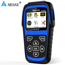 Nexas NL102P DPF Regenerate Oil Light Reset For Diesel Heavy Duty Trucks OBD2 Diagnostic Scanner OBD Scan Tool Car Diagnosis(Hong Kong)