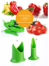 Chili tomato corers Fruit & Vegetable  corer  Nordic Creative Kitchen gadgets  Have 2 styles size  2pcs/set