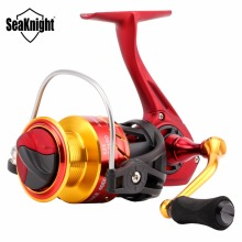 SeaKnight FENICE Spinning Fishing Reel 2000 3000 4000 5.2:1 Carbon Fiber Drag System 11BB Aluminum Spool Fishing Spinning Reels