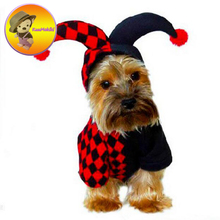 New Arrivals Punk style Puppy Dog Clothes Vestidos Pets dogs Hallowmas costume pet cat sorcerer wizard Halloween dogs clothing