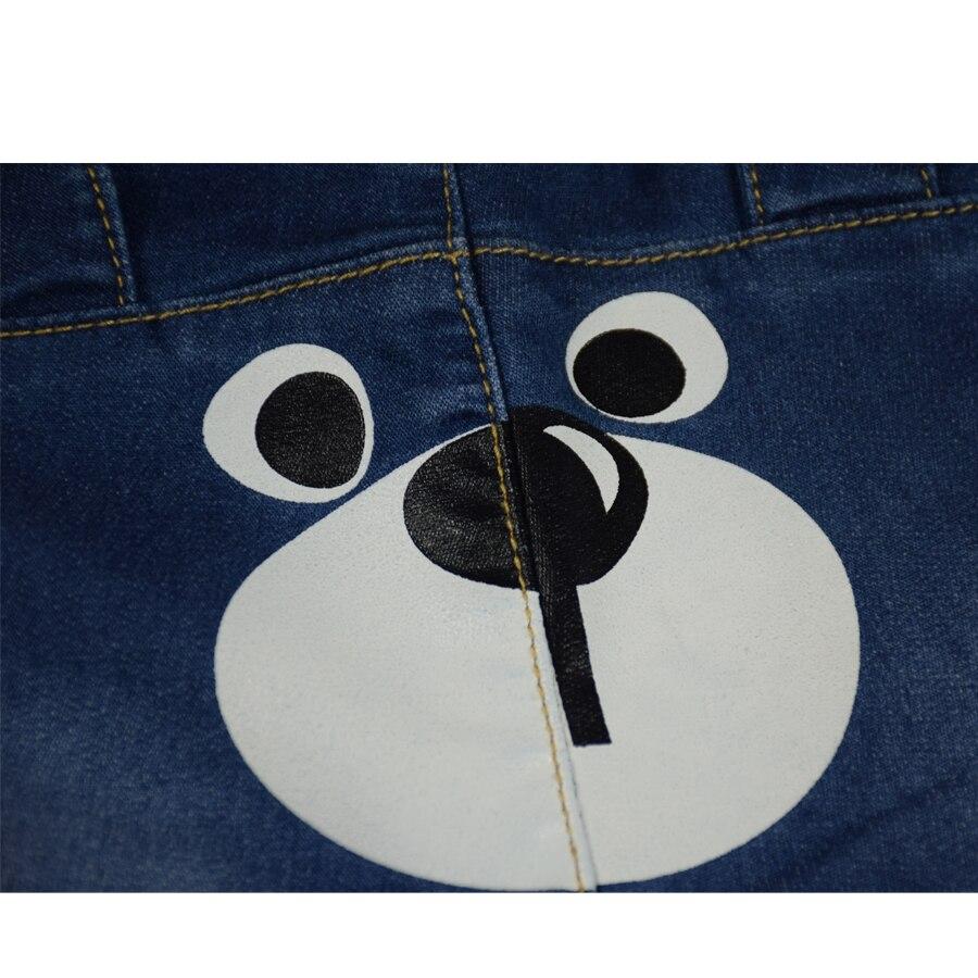 HSIN1703012-6Baby Denim Jeans Pants Warm Soft Leggings Boys Girsl Newborn Bebe Harem Trousers Infant Toddler Blue Pantalones Children Clothes