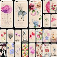 Cover For Apple iPhone 6 iPhone 6S iPhone6 iPhone6S Case Cases Phone Shell Soft TPU Painted Cool Piquant Girl 2017 Best Choose(China)