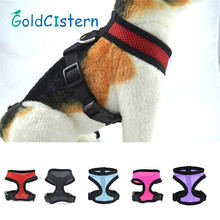 Stylish Flash Bow Dog Harnesses Set Cat Dogs Puppy Breathable Mesh Adjustable Harness Collars Leads with Leash Pet Supplies(China)
