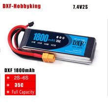 Buy 2017 DXF Power High lipo battery 7.4v 1800mAh 2S 35C rc helicopter rc car rc boat quadcopter Li-Polymer battey for $14.29 in AliExpress store