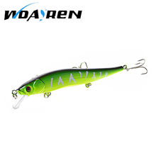 1Pcs 13.1g 11.5cm Minnow Crankbait Hard Bait Tight Wobble Slow Floating Jerkbait High Quality ABS Model  Fishing Lure FA-284
