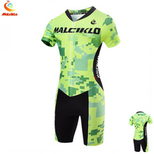 Ironman Triathlon Jumpsuit Training one piece summer cycling clothing triathlon skinsuit wetsuit for running, cycling, swimming