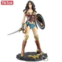Movie Wonder Woman Diana Prince Batman v Superman Dawn of Justice 25cm Cartoon Toy Action Figure Model Doll Gift(China)