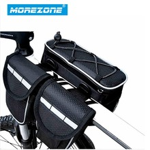 MOREZONE Cycling  Bicycle Bag Bike Top Tube Saddle Bag Multifunction Sports Bag 3 Color