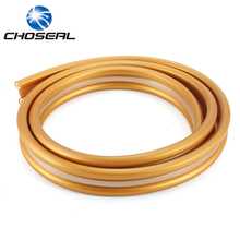 Choseal QS6283 Loud Speaker Cable Oxygen-Free Copper 2*350 Core+5 Center Wire Engineering Cable For Concert Stage Theater(China)