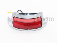 Red Motorcycle Parts LED Run-Brake Rear Touring Fender Tip Turn Signal Light For Harley Road King  FLHRC 2009-2013 10 11 12
