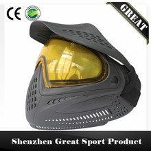 Double Strap Full Face Anti Fog Paintball Mask with DYE I4 Thermal Dual Pane Lens(China)