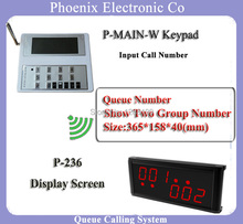 Kitchen Equipment Queue Management System For Fast Food Restaurant With Number Keypad and Customer Display DHL Free Shipping