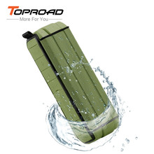 TOPROAD Bluetooth Speaker Big Power 10W Portable Wireless altavoz Amplifier Stereo Outdoor Waterproof Speakers with Microphone(China)