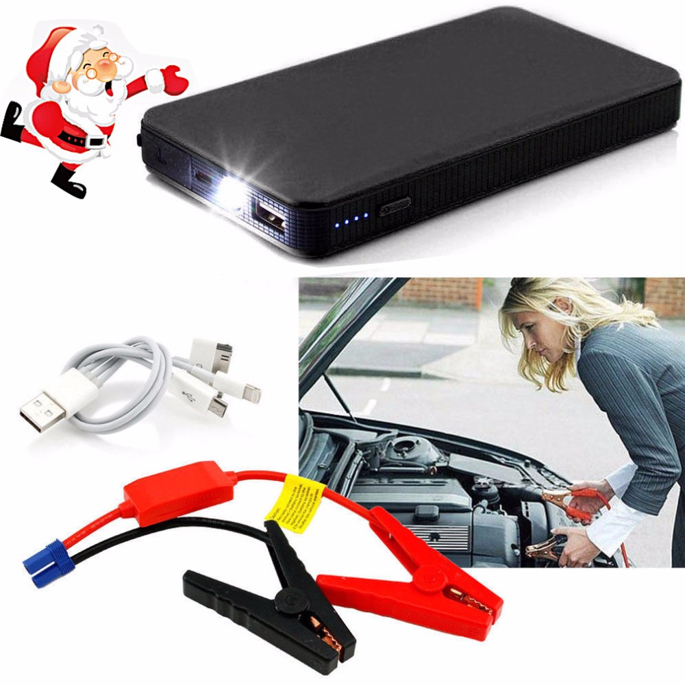 Car Jump Starter Mini Emergency Starting Device 20000mAh Car Charger for Car Phone Battery Booster Portable Power Bank Starter