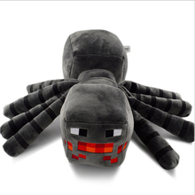 17cm Minecraft Spider Plush Toys Cute Minecraft Game Plush Soft Toy Stuffed Animals Kids Toys Doll for Kids Gift 1Pc