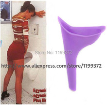 200pcs/lot OPP Bag Female Women Urinal Urine Pee Funnel Tube Portable Travelling Camping Director Urinary Device Ladies